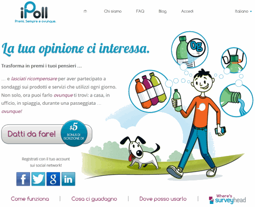 ipoll homepage